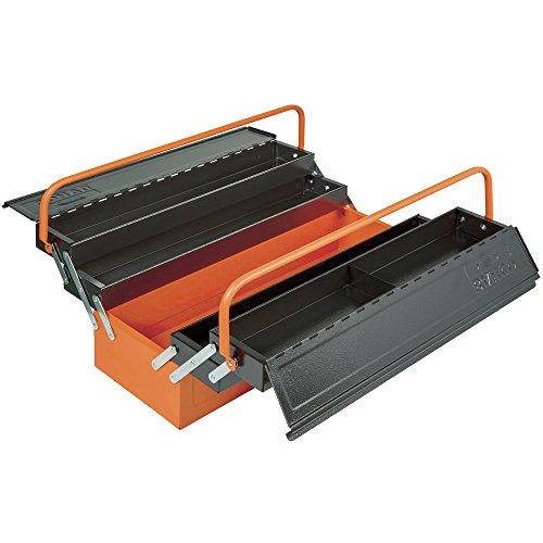 Bahco 1497Mbf550 - Caja de herramientas con 5 compartimentos
