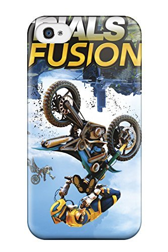 Preisvergleich Produktbild 1948788K30628731 Iphone 4 / 4s Cover Case - Eco-friendly Packaging(trials Fusion Game)