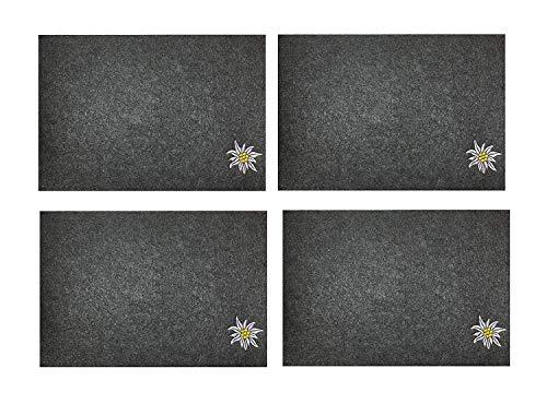 HandWerk Juego 4 manteles Individuales Fieltro, 45