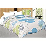 Craft Trade Micro Cotton Soft And Light Weight Designer Flower Printed Double Bed Dohar/Ac Comforter For Home
