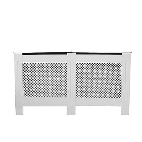 Anaelle Pandamoto Cache-Radiateur Panneau Cabinet en MDF, Taille externe: 151.5