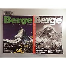 Berge - Das internationale Magazin der Bergwelt : Erstaugabe, 1983 - Ausgabe Nr. 100, 2000 [100 Hefte].