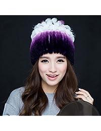 Sciarpe Xiaolin- Cappello Inverno Moda Confortevole Tenere Caldo Cappello  Giovane Cappello Calda all aperto 8032e81300d0