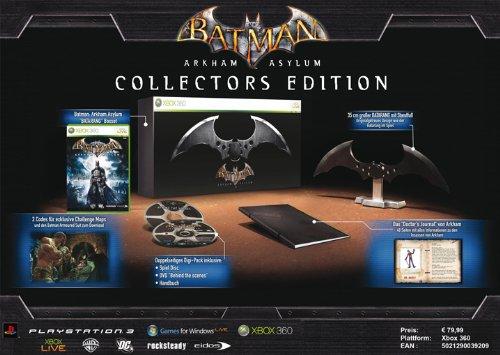 Batman: Arkham Asylum - Collector's Edition (Xbox 360-spiele Arkham Asylum)