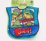Teenage Mutant Ninja Turtles Waterproof Toddler Bibs Set of 2