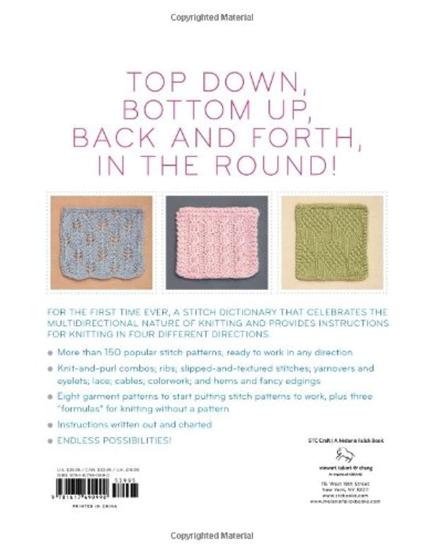 2d1a4cc95027 More Than 150 Stitch Patterns to Knit Top Down