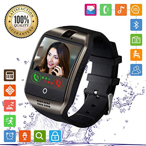 Smartwatch, FENHOO SN06 Smart Watch Phone con SIM Card Slot Camera Touch Screen Orologio Intelligente Cellulare per Android...