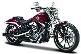 Harley Davidson Modell, 2016 Breakout rot (35), Maisto Motorrad 1:18
