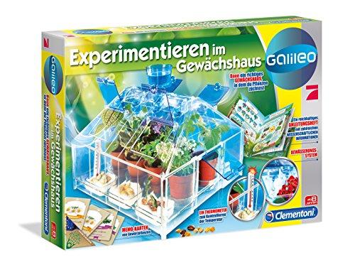 Preisvergleich Produktbild Clementoni 69459.4 - Galileo - Experimentieren im Gewächshaus