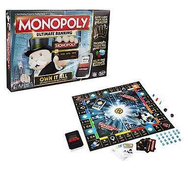 Hasbro Monopoly Ultimate Banking Game