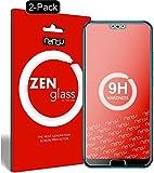 nandu I ZenGlass - The Thin Glass I 2 x Flexible Glas-Folie für Huawei Honor 10 Panzerfolie I Display-Schutzglas 9H I Kleiner als Das gewölbte Display