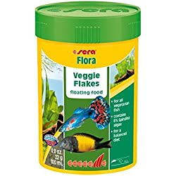 Sera. FLORA1000ml Copos alimentos para principalmente peces herbivorosos*