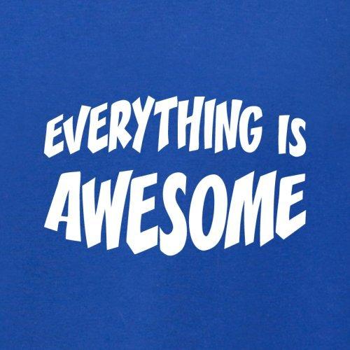 Everything Is Awesome - Herren T-Shirt - 13 Farben Royalblau