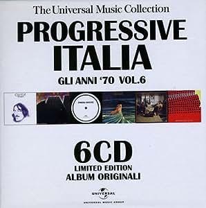 Progressive Italia: Gli Anni '70 Vol. 6 - The Universal Music Collection - Limited Edition (6 CD)