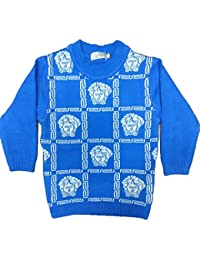 Bombay Fashion Woollen Knitted Baby Sweater (3 Month-1 Year) (Blue_ BF- 02)