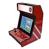 Funihut 3D Moonlight Box 9 LCD Jeu d'arcade Machine de Combat Console de Jeu TV Street Fighter, avec écran d'accueil de 12 Pouces de Jeu de la Boîte de Moonlight Box 8 Go VGA+HDMI+USB
