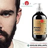 Beard Wash 250 ml Shampoo per la barba con Menta e Tea Tree