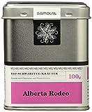 Samova Alberta Rodeo - Schwarztee/Kräuter 100g, 1er Pack (1 x 100 g)