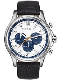 Esprit Herren-Armbanduhr Mathias Chronograph Quarz Leder ES108251003