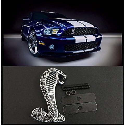 Emblema enfriador Barbacoa Shelby Cobra Snake