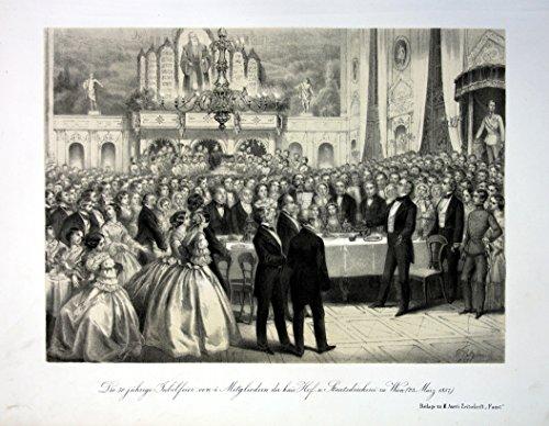 Die 50 jährige Jubelfeier .. Staatsdruckerei zu Wien (23. März 1857) - Feier Staatsdruckerei Wien...