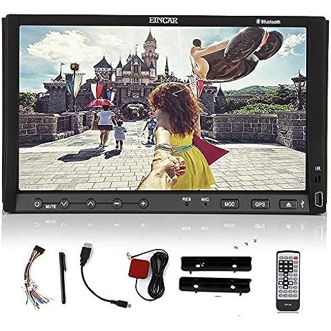EinCar Navigazione GPS capacitivo ricevitore radiofonico auto CD Lettore DVD