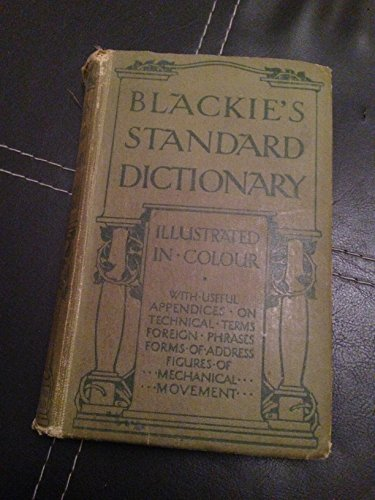 Blackie's Standard Dictionary