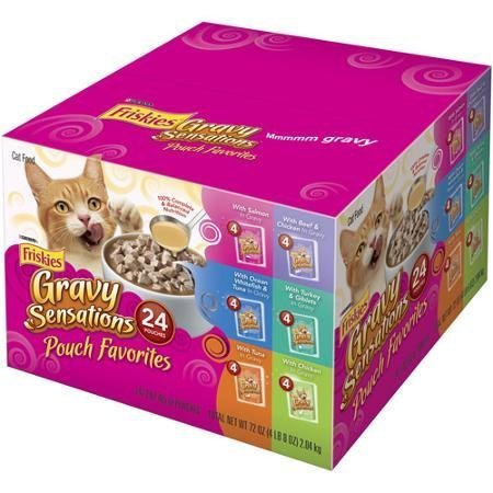 friskies-wet-cat-food-variety-packs-of-24-gravy-sensations-pouch-favorites-3-oz-pouches-by-purina