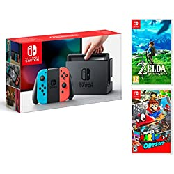 Nintendo Switch + Super Mario Odyssey + Zelda: Breath of the wild - MEGAPACK