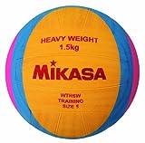 Mikasa Wasserball WTR6W 1.5 kg, Organe/Blau/Rot, 5, 1214