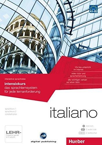 interaktive sprachreise intensivkurs italiano: das sprachlernsystem für jede lernanforderung/Paket: 1 DVD-ROM + 2 Audio-CDs + 2 Textbücher (Interaktive Sprachreise digital publishing)