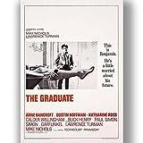 Die Graduate Film Film Poster Vintage Retro-Stil Leinwand Wand Kunstdruck Bild groß Klein