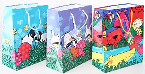 Item Bolsa de papel para regalos 34 x 46 x 10 cm BS-83538