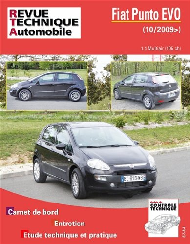 revue technique Fiat PUNTO EVO 1.4 Mutiair (105 ch)