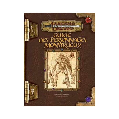 Dungeons & dragons. Guide des personnages monstrueux