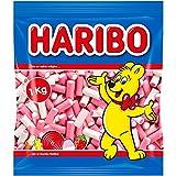 Haribo Balla-Balla Pink & White - Geles dulces, 1000 g