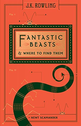 Fantastic Beasts and Where to Find Them (Hogwarts Library Book) (Harry Potter (Hardcover)) por Newt Scamander