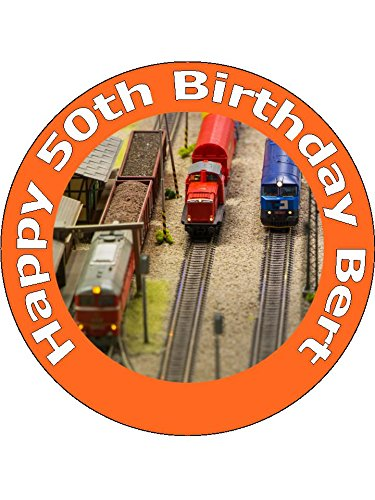 75-inch-model-train-and-railway-birthday-cake-toppers-decorations-personalised-on-edible-rice-paper-
