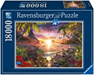 Ravensburger Paradise Sunset 18,000 Piece Jigsaw Puzzle for Adults – Softclick Technology Means Pieces Fit Tog