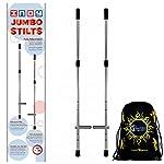 Indy Kids Jumbo Stilts + Flames N Games Travel Bag