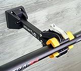 Powerfly Cavalletto Supporto Riparazione Manutenzione Bici - Pieghevole Morsetto per Bicicletta - Montato da Parete