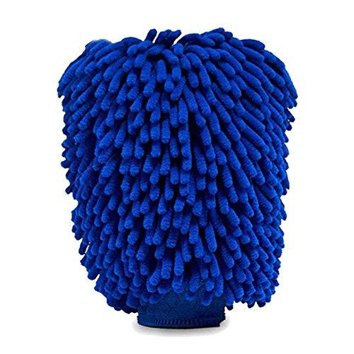 KOBWA Gant de Lavage de Voiture, des Rayures Éventuelles de Voiture Gant de Toilette Premium Gant de Lavage en Microfibre de Chenille Tous Les Types de véhicules