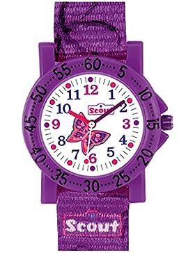 Scout Mädchen-Armbanduhr Analog Quarz Textil
