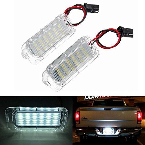 2 X Luce targa 18 LED SMD LED posteriore CanBus senza errori Per Fiesta / Focus / Kuga