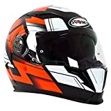 Suomy KSHA0008.5 Casco Moto, Multicolore, L
