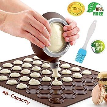 Mujiang kit de macaron en silicone pour décoration passepoil Pot à...