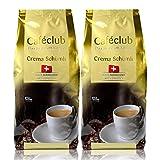 2 x Cafe club super crema svizzero Schümli caffè fagioli 1 kg per caffè completamente automatiche