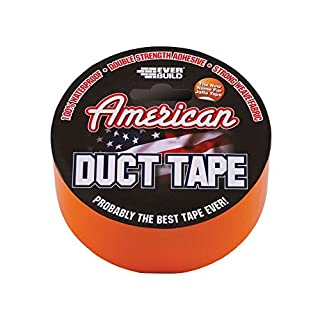 Everbuild EVBUSDTO25M American Duct Tape Orange 50 mm x 25 m, (Pack of 1)