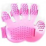 Bild: NK Shop Pet Gesundheitswesen Pflegenbad BürstenKamm Washing Werkzeug für Haustiere rosa