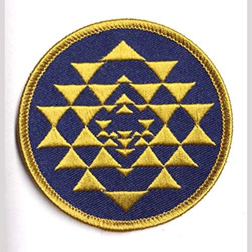 Battlestar Galactica Abzeichen (Battlestar Galactica Colonial braun & Dunkelblau bestickt abzeichen Patch Aufnäher oder zum Aufbügeln 7,5cm)